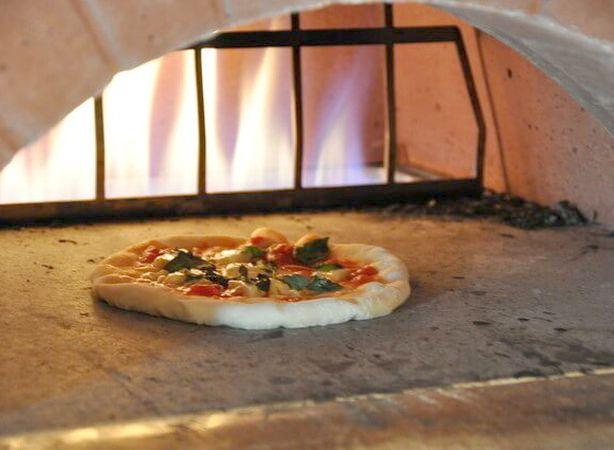 エンルートのピザ
