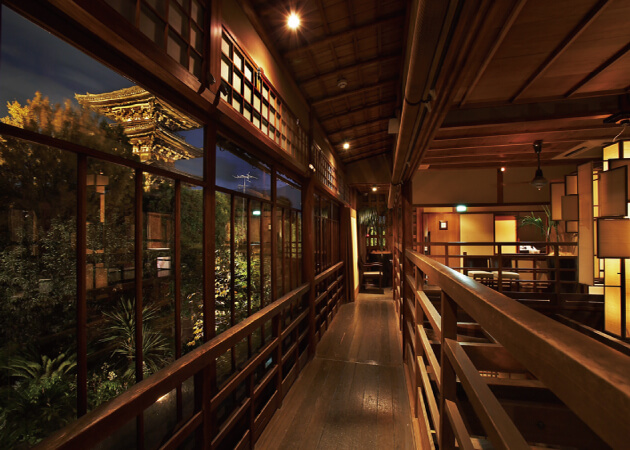THE SODOH HIGASHIYAMA KYOTO (ザソウドウ東山京都の店内
