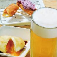 ぶっちの料理とビール