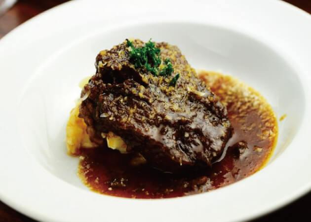 NikuTeria カルネバッカの牛タンのへべれけ煮