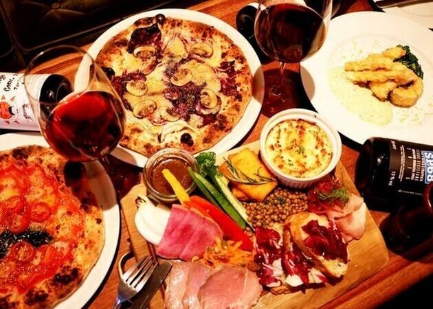 far.pitte (ファルピッテ)のピザ