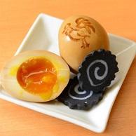 麺家 不忘 (メンヤ フボウ)の味玉とメンマ画像