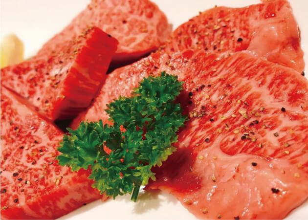 焼肉 おくうの山形牛やさつまビーフ