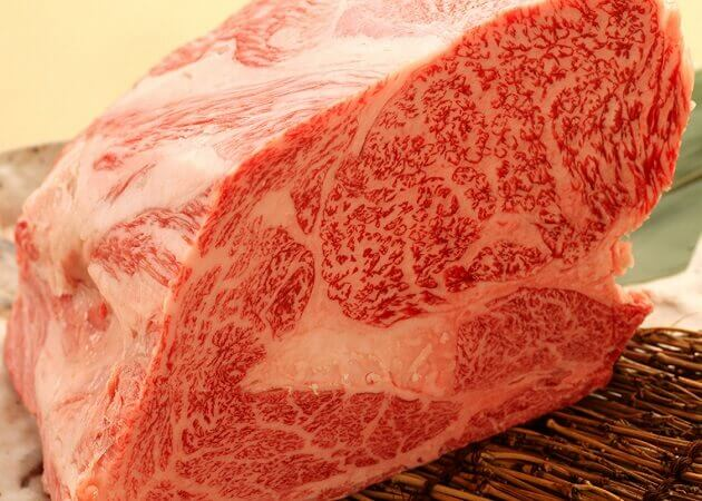 しげ吉 横浜元町店の黒毛和牛肉画像