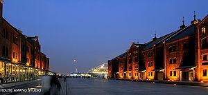 横浜 赤レンガ倉庫の画像