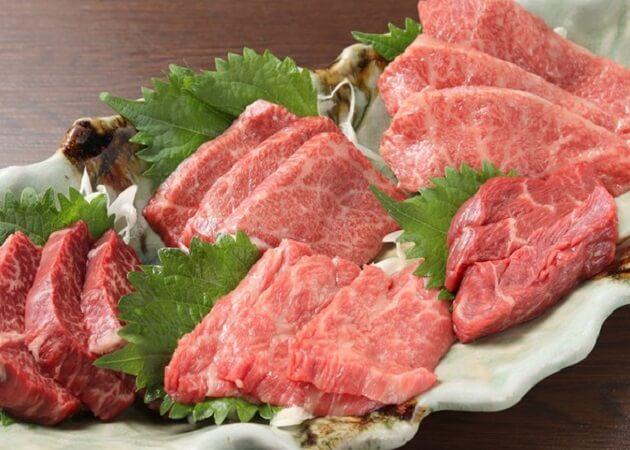 焼肉えん の熟成肉画像
