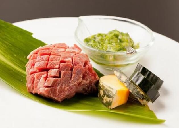 いづつ家 三条店の丹波牛肉画像