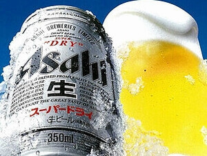 ビールの広告画像
