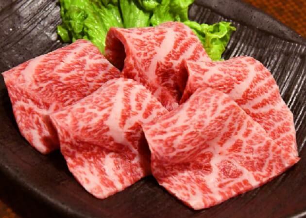 杏樹亭 岸根店 の黒毛和牛肉画像