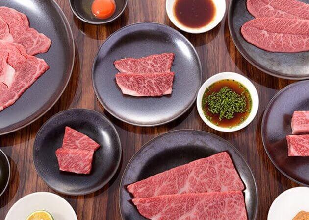焼肉 嘉の牛肉