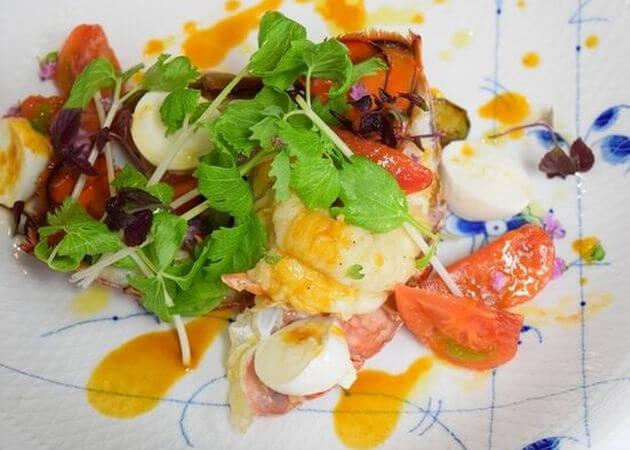 アロマフレスカ名古屋の海老料理
