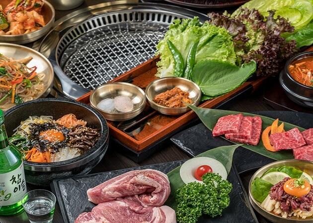 Korean Dining テジテジの焼肉と韓国料理