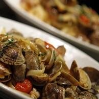 ピッツェリア・ダ・ガエターノのアサリ料理