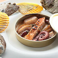 クッチーナシチリアーナシクラメンテの魚介料理