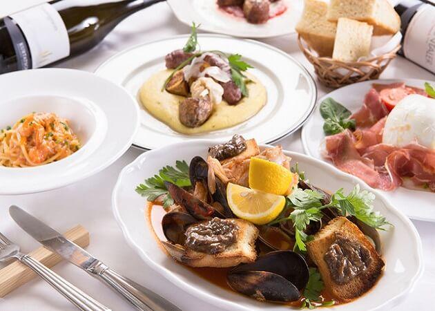 ツィオ ヴィットリオのイタリア料理