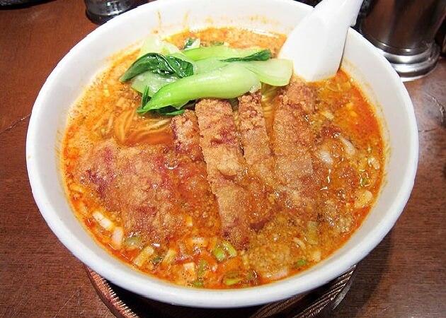 らーめん 亜寿加(あすか)の排骨担担麺