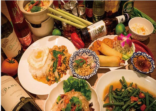 バンコク六本木の料理