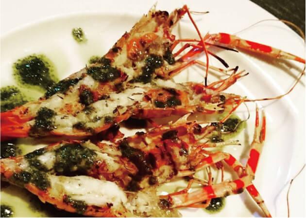 リストランテ ビスの魚介料理