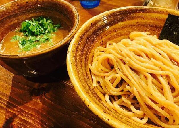 ベジポタつけ麺えん寺のつけ麺