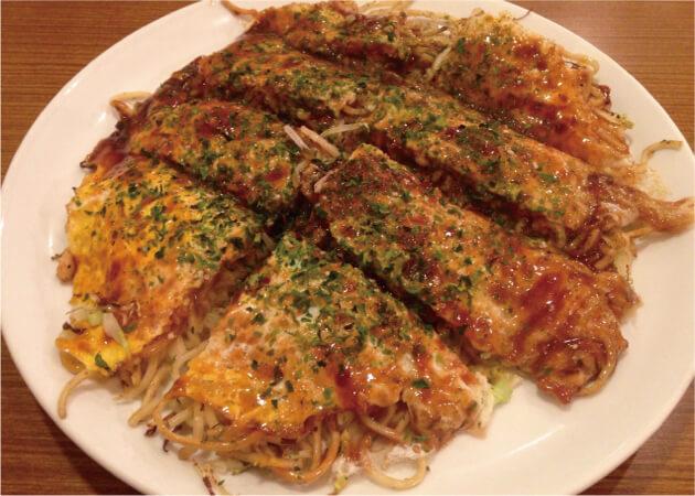 ふみちゃん 堀川町店のお好み焼き