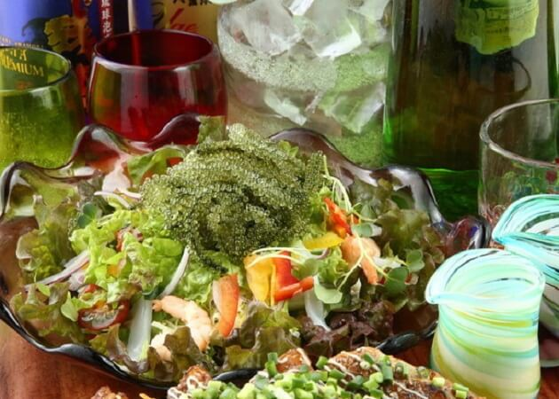 源さん の沖縄料理(海ぶどう)画像