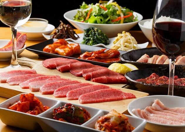 焼肉ハチハチ 博多店の肉・料理