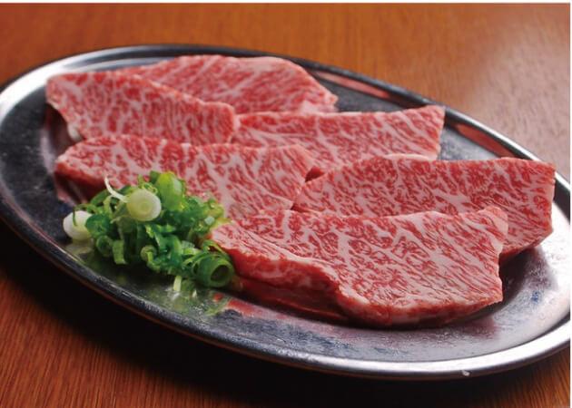 美味焼肉 広一 の厳選和牛の三角バラ