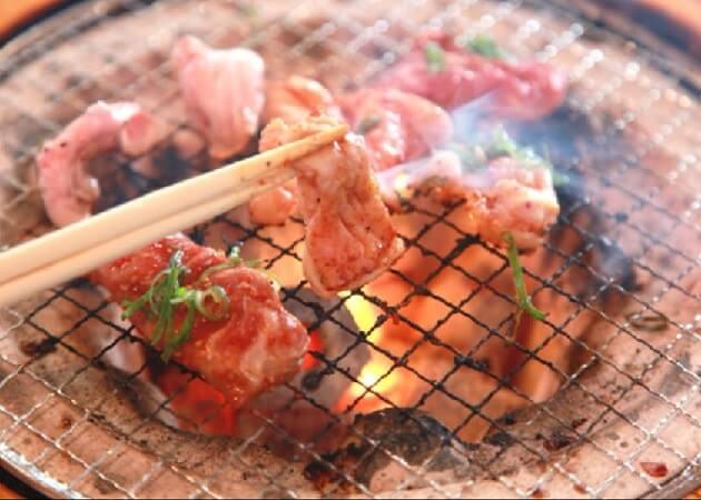 秩父焼肉ホルモン 一番館の焼き肉