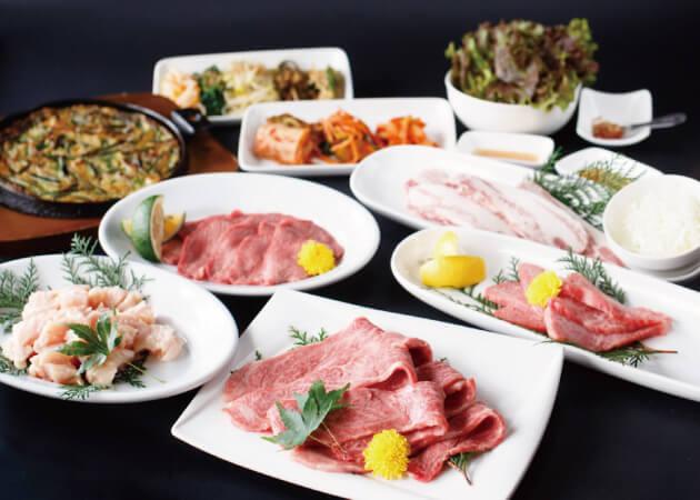 順光苑の肉料理