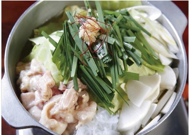 かわ乃博多店のもつ料理