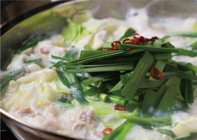 もつ料理京山の鍋料理