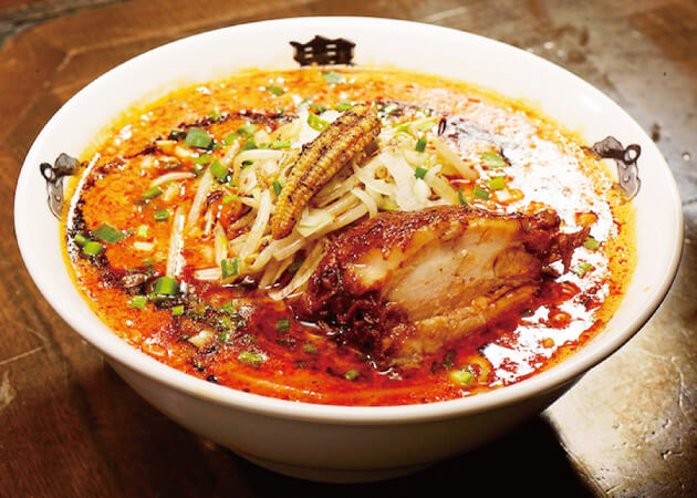 カラシビ味噌らー麺 鬼金棒 (キカンボウ)のカラシビ味噌ラーメン