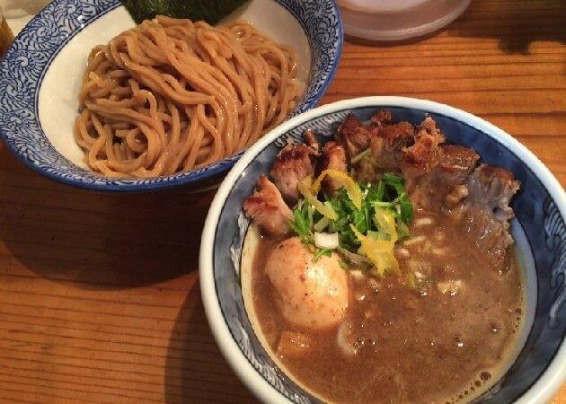 道玄坂 マンモスのつけ麺