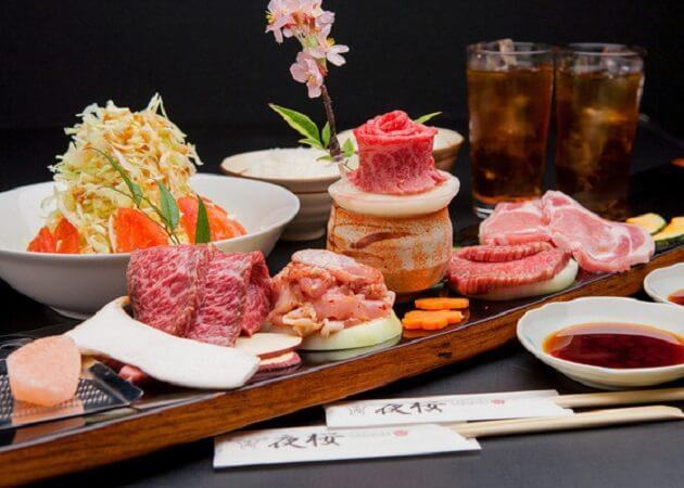 焼肉 夜桜 の和牛肉画像
