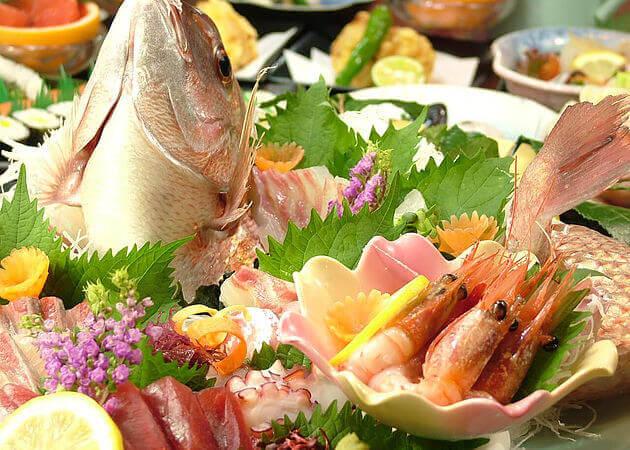 夢料理 おとぎや の魚料理