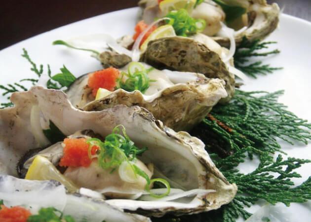 浪漫座 (ろまんざ)の海鮮料理