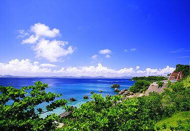 沖縄 海の風景