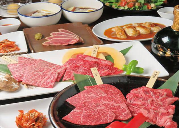 溶岩焼肉 薩摩黒家の黒牛肉