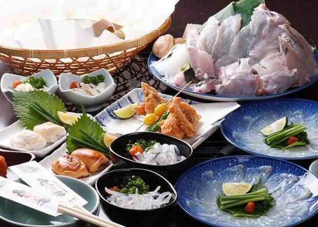 七ふく神 東心斎橋店の海鮮料理