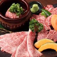 炭火 七りん (すみび しちりん)のお肉
