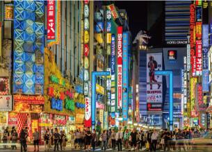 新宿歌舞伎町の町並み