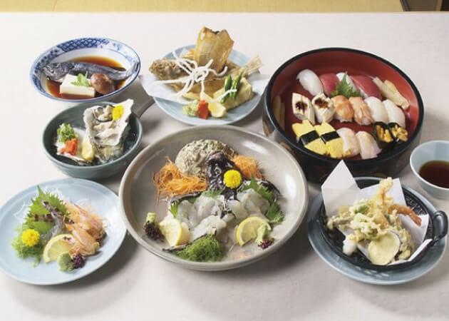 瀬戸内料理 たか福の海鮮