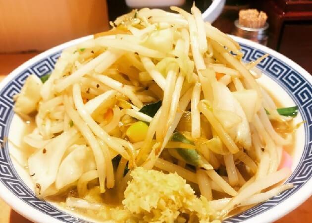東京タンメン トナリ アトレ上野店のタンメン