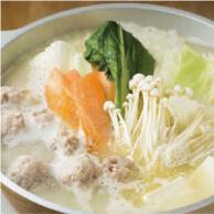 とり田博多本店の水炊き鍋