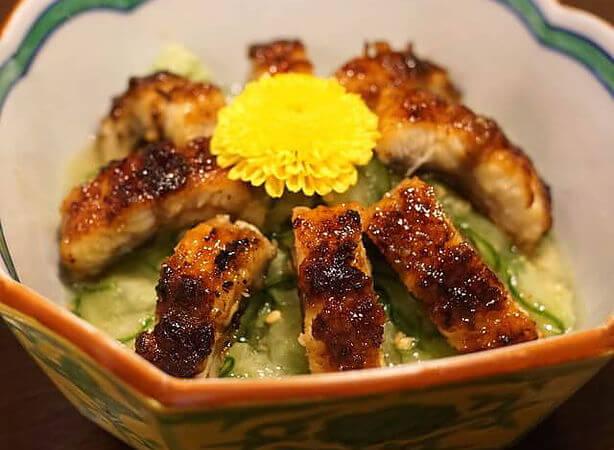 うな富士の鰻料理