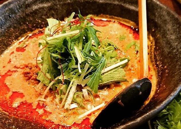 神泉のらぁめん屋 うさぎの担々麺