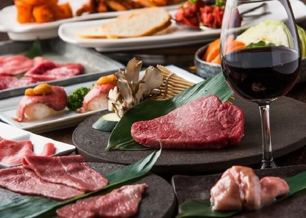 ヤキニク旭 の焼き肉料理画像