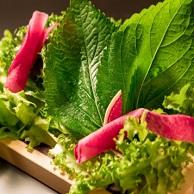 焼肉 喰心 (クウシン)のこだわり有機野菜画像