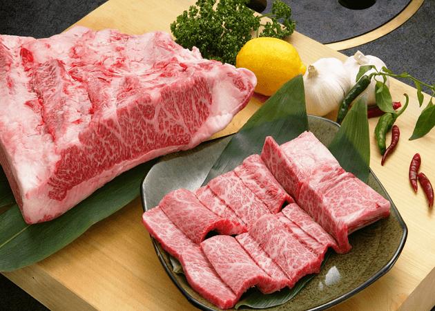 利花苑 大名本店の焼き肉