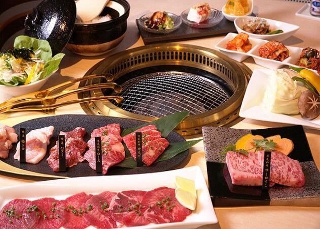焼肉Dining金の鶴の焼肉